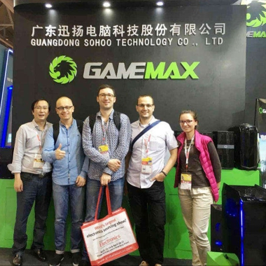 打造精品 GAMEMAX参加2016环球资源电子展